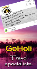 Goholi offering Four Wheel Drive hire from Broome, Perth, Darwin, Alice Springs locations.